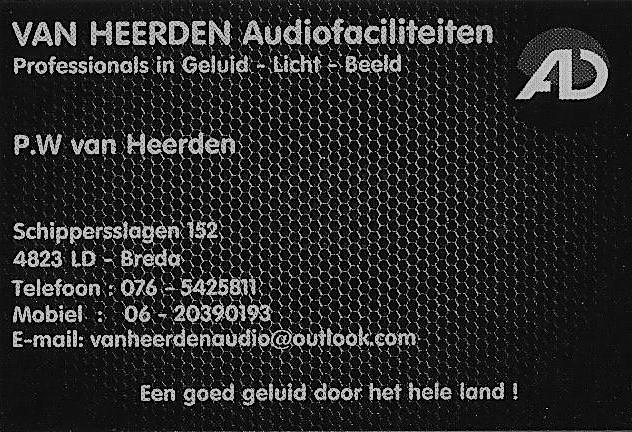 Van Heerden Audiofaciliteiten