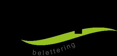 Tulp Belettering
